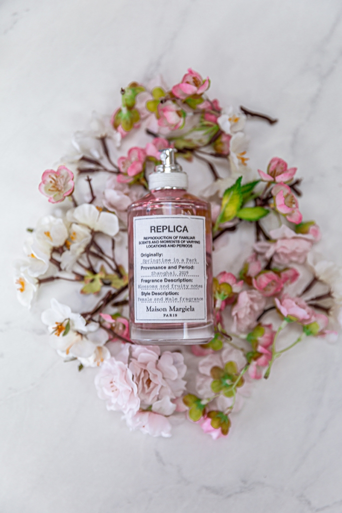 maison margiela replica springtime in a park fragrance