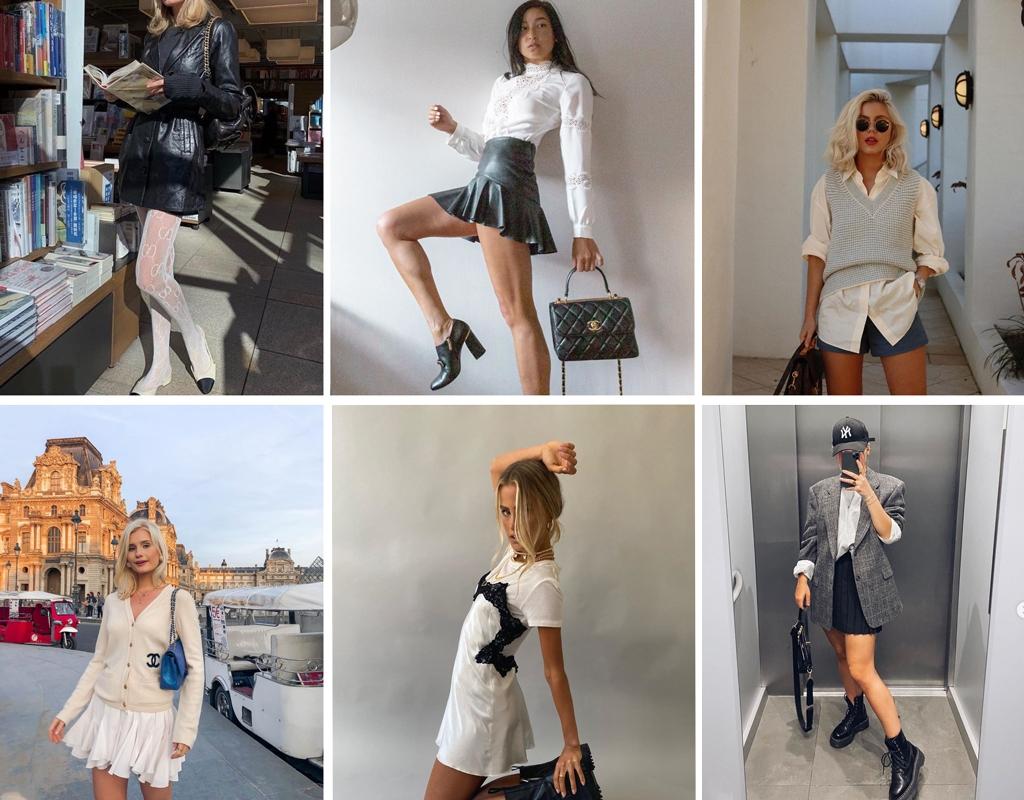 luxury handbag chanel and preppy style