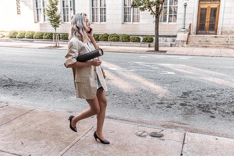 oversize blazer street style minimal style entrepreneur