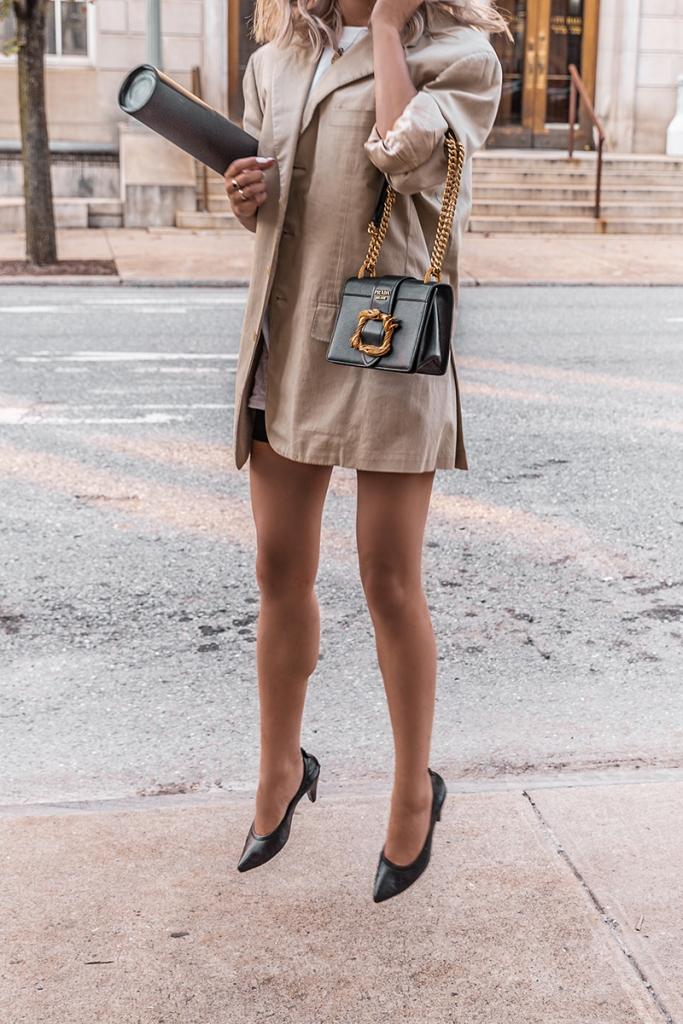oversize blazer street style minimal style blog
