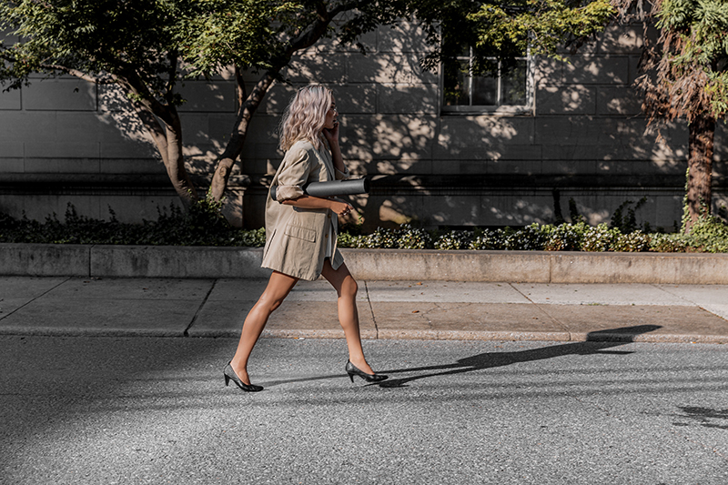 street style running errands