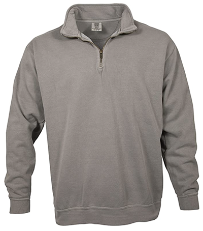quarter zip up pullover