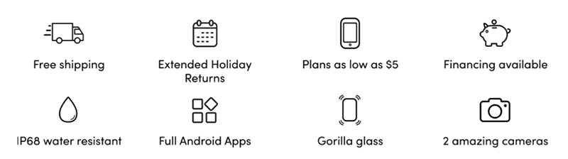 palm smartphone technology features
