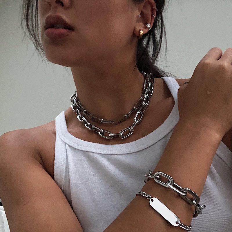 maison miru silver ear cuffs