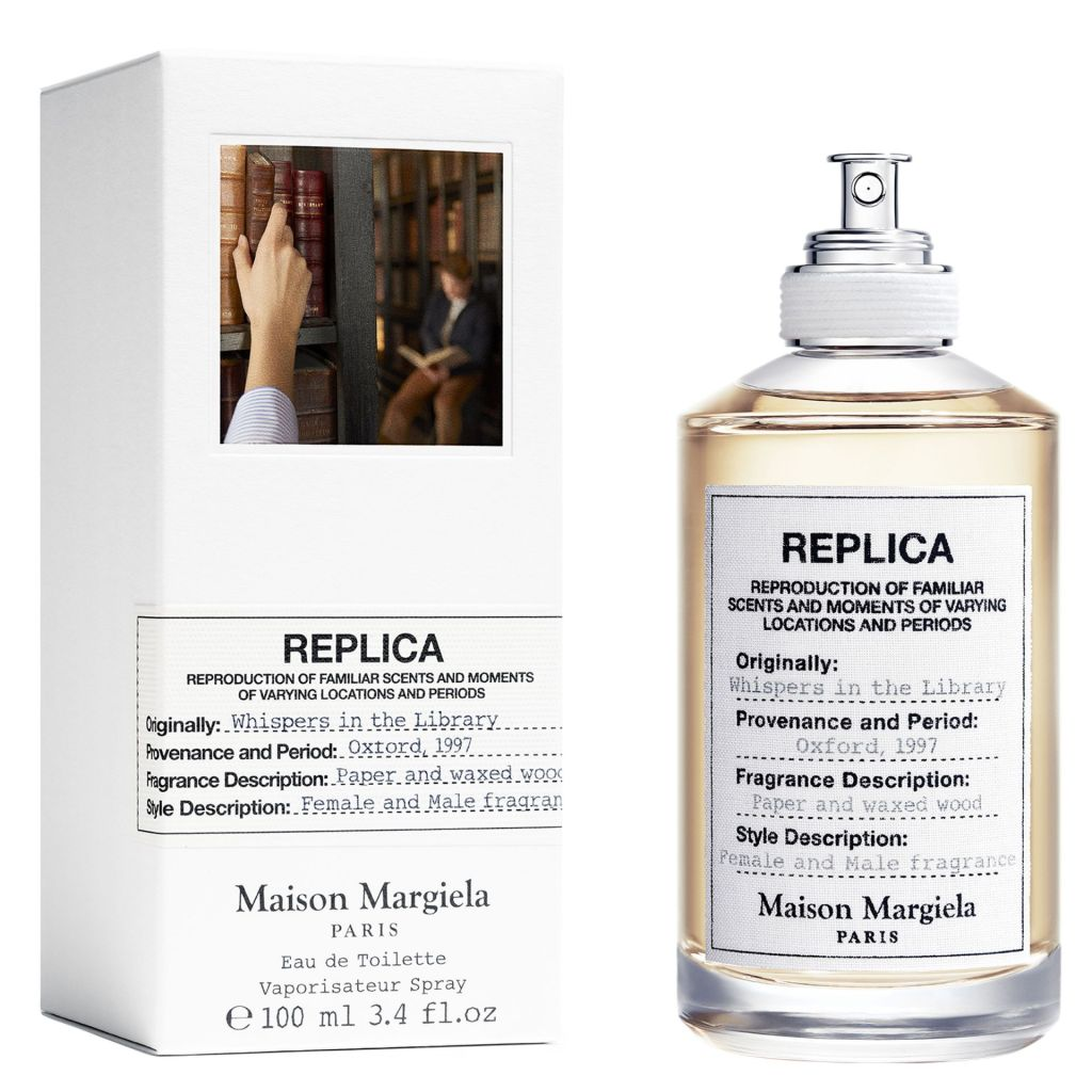 maison margiela replica whispers in the library review