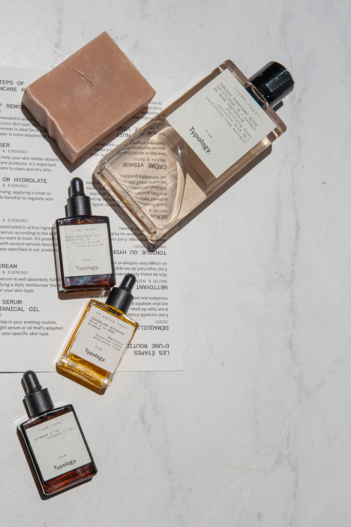 my personalized skincare routine | typology paris skincare review